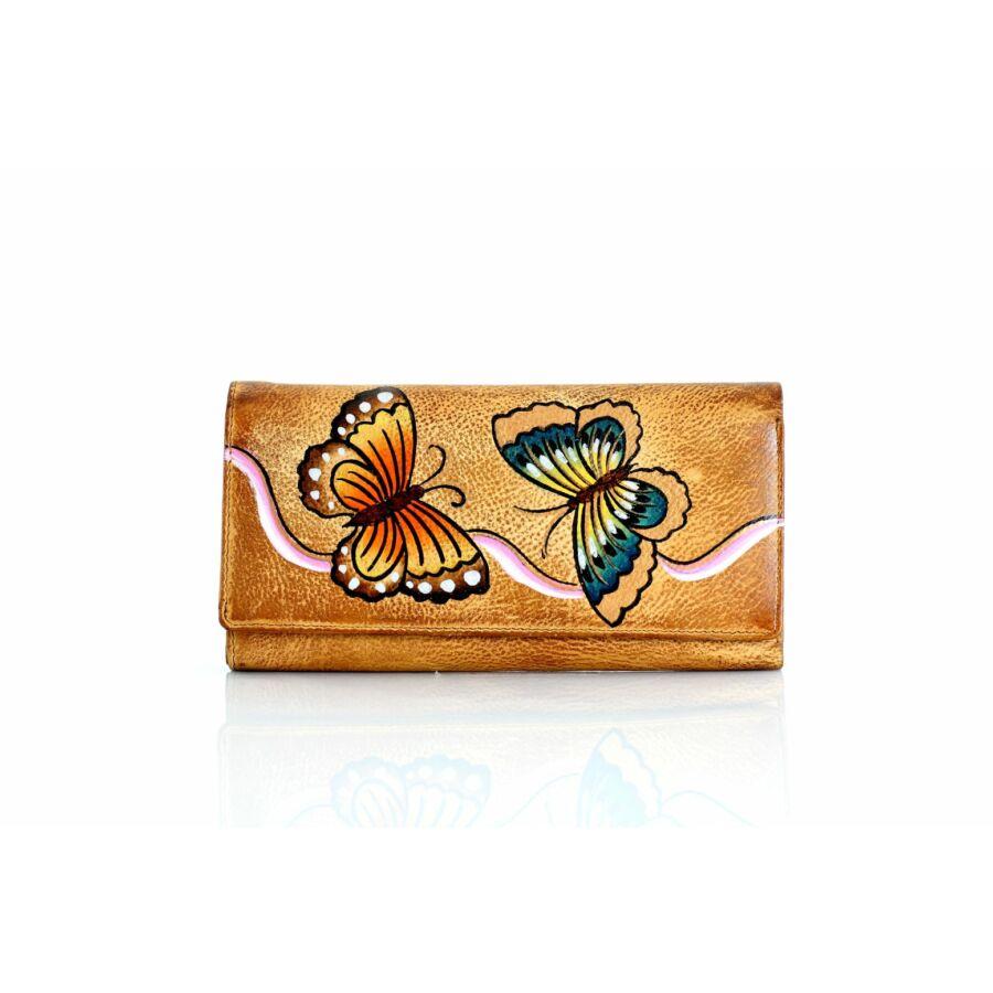 Fairy valódi bőr pillangós női pénztárca díszdobozban - Női ... 8d4f66cb2b