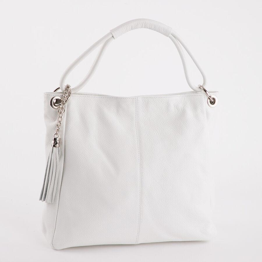 Valódi bőr fehér női táska - Valódi bőr női táska - Etáska ... f1c651e6c9
