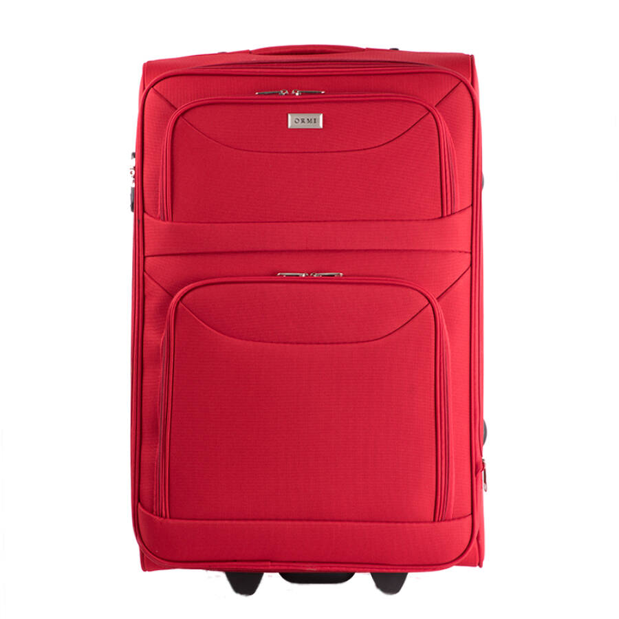 ORMI Bőrönd nagy méret piros színben - Akciós bőrönd - Etáska ... 82497bc22b