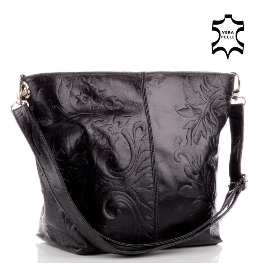 Valódi bőr női táska koptatott bőrből - Valódi bőr női táska ... 1c2a0f8c96