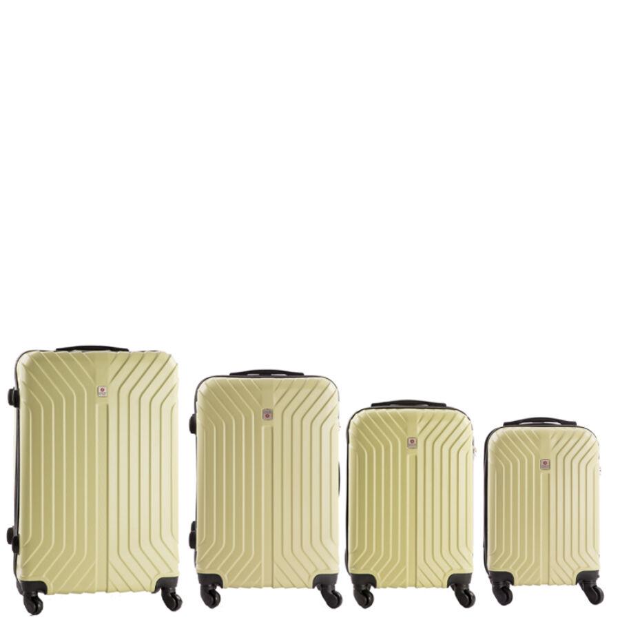 81189338a463 Leonardo Da Vinci 4 db-os bőrönd szett - Akciós bőrönd - Etáska ...