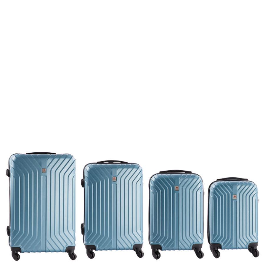 7fa3dd11f37e Leonardo Da Vinci 4 db-os bőrönd szett - Bőrönd - Etáska - minőségi ...