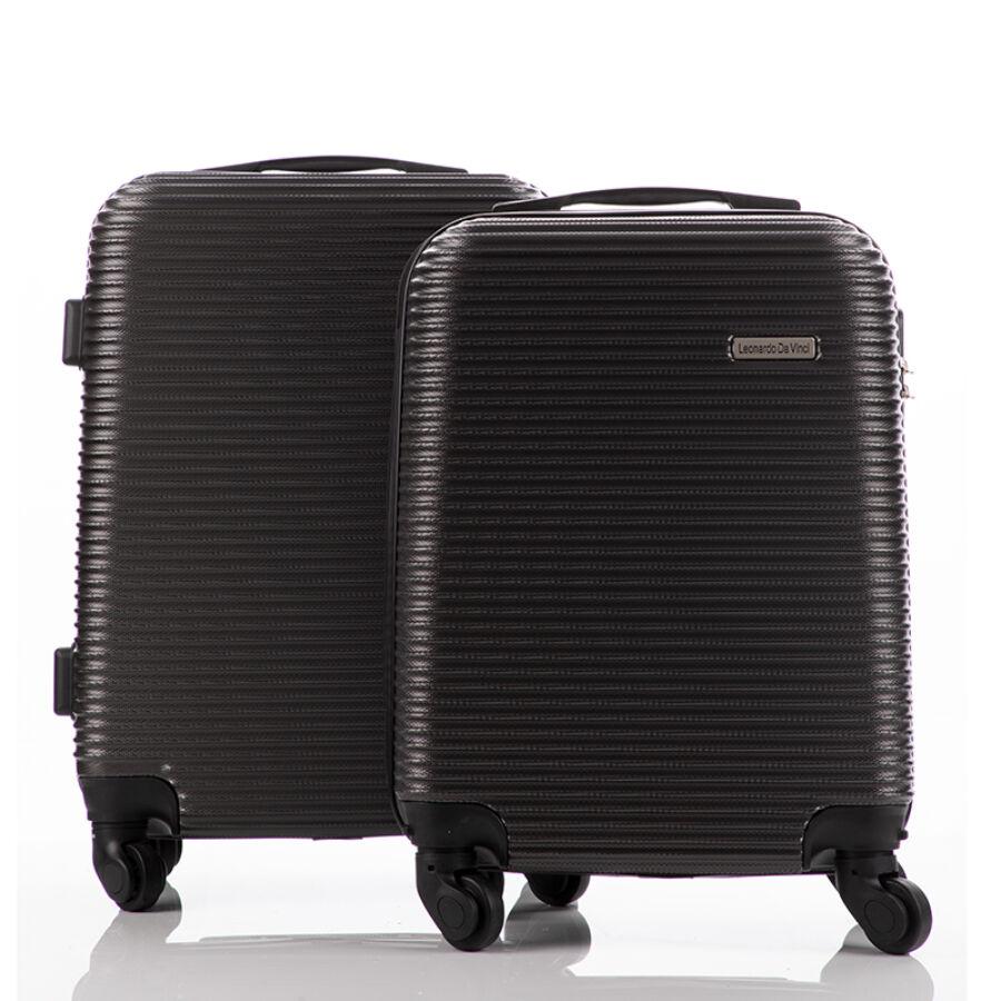 9a60674f3de1 LEONARDO DA VINCI Bőrönd szett kabin méret ÚJ WIZZAIR méret ...