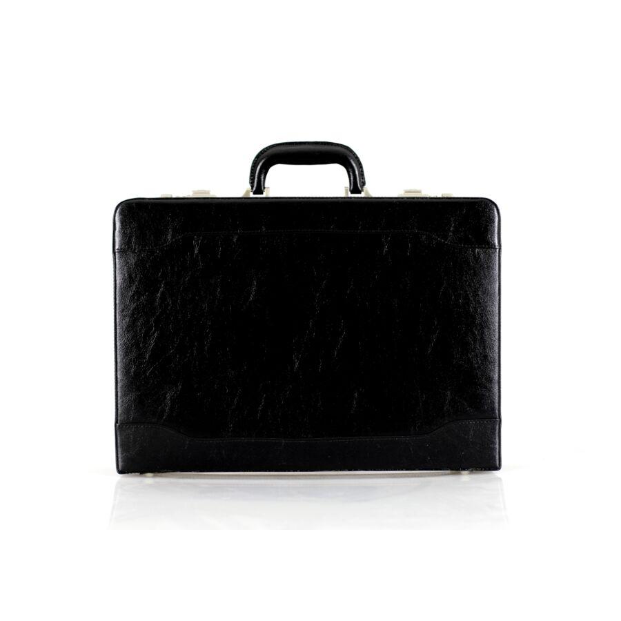 Fekete számzáras diplomata táska bővíthető - Aktatáska - Etáska ... daf2935330